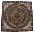 Slate mix Marble Medallion mosaic