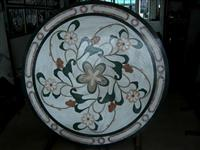 Round Natural Stone Medallion