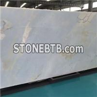 Blue Marble Rock Stone Floor Tile