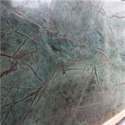 Rainforest Green Marble Slabs Tiles Countertops