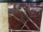 Rosso Lepanto marble tiles