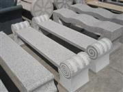 Granite bench L20-30 red pock