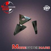 PCD Inserts Diamond Cutting Tool PCD Cutting Insert Cutter  alan.wang@moresuperhard.com