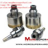 Glass Diamond Drill Bits for oil and polishing alan.wang@moresuperhard.com