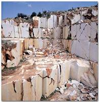 Pink Marble Blocks from Our Own Quarry