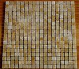 Yellow onyx mosaic