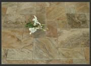 Scabos gold travertine pattern set