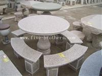 Granite Table&Bench