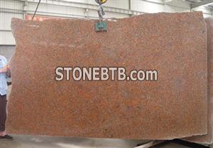 G562 Granite Slab, Maple Red Granite Slab
