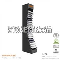 Quartz stone showroom display stand-SRL233