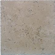 Sierra Travertine - brushed and chiseled edge
