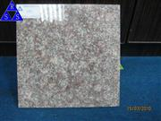 China peach red G687 granite tile