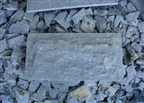 G654 China dark grey granite mushroom stone