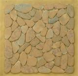 Marble Pebble mosaic tile