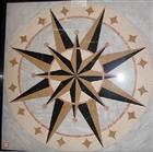 Square Waterjet Medallion