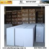 Pure white marble polished 80x40x3