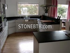 Absolute Black Kitchen Top, Island