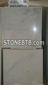 Crystal white marble C Grade