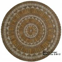 Travertine Medallions K-M-12