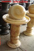 Yellow Onyx Fountain