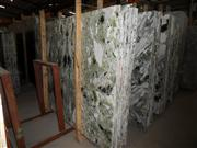 China Ice Jade-green marble slab