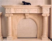 Fireplaces - Sandstone, marble, granite