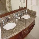 Light Emerador Marble Vanity Top