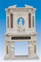 Overmantel Fireplace SF-069