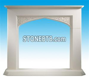 UK Style Marble Fireplace SF-039