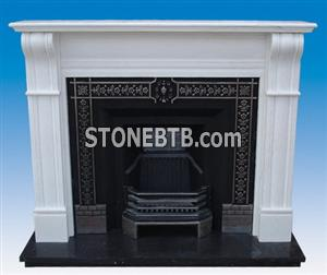 English Marble Fireplace SF-046