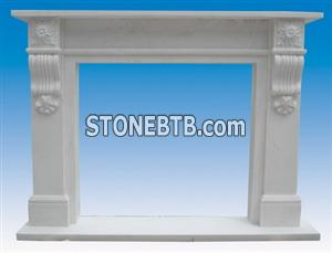 English Marble Fireplace SF 048