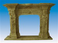 Travertine Fireplace SF-061