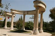 Garden Gazebo with China Yellow Limestone