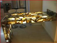 Transparent Onyx Table Top