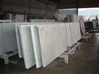 river white countertop, prefabricated top, kitchen