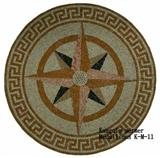 Travertine Medallions K-M-11