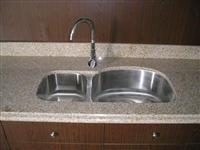 G682 Kitchen Countertops, Ming Gold cut to size