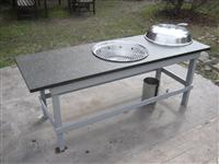 Granite BBQ Table Top