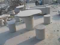 Granite Garden Table