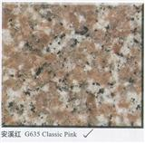 G635 Granite Classic Pink China Granite