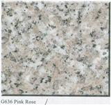 G636 Pink Rose Chinese Pink Granite
