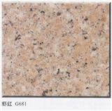 G681 Shrimp Red  Chinese Granite