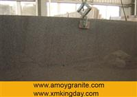 G654 Padang Dark Middle Flower Gray Slab