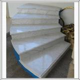 Ariston White Marble Stairs