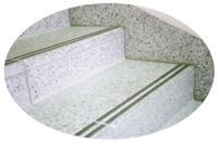 G603 Gray Granite Treads Stairs