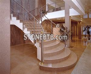 Beige Granite Treads
