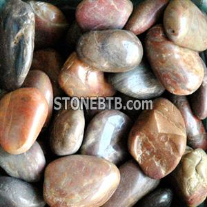 Red Pebble Stone Sand Gravel