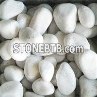 White Pebble Stone Sand Gravel