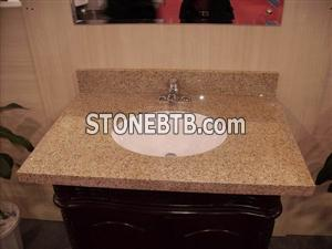 G682 Golden Yellow vanity top