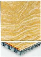Yellow Marble Honeycomb Composite Tile